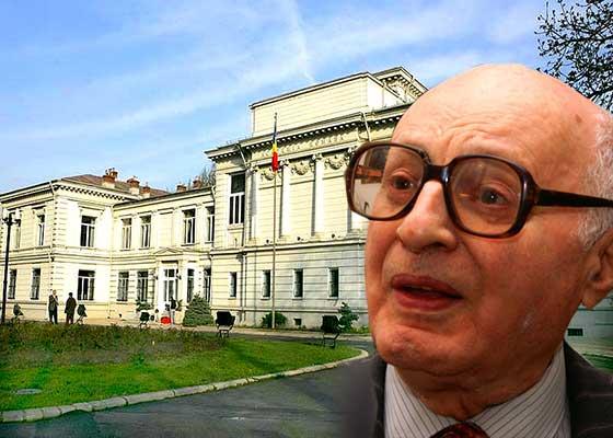 Solomon Marcus, dat afară din Academie, să-i facă loc lui George Copos, care a scris mai multe cărți