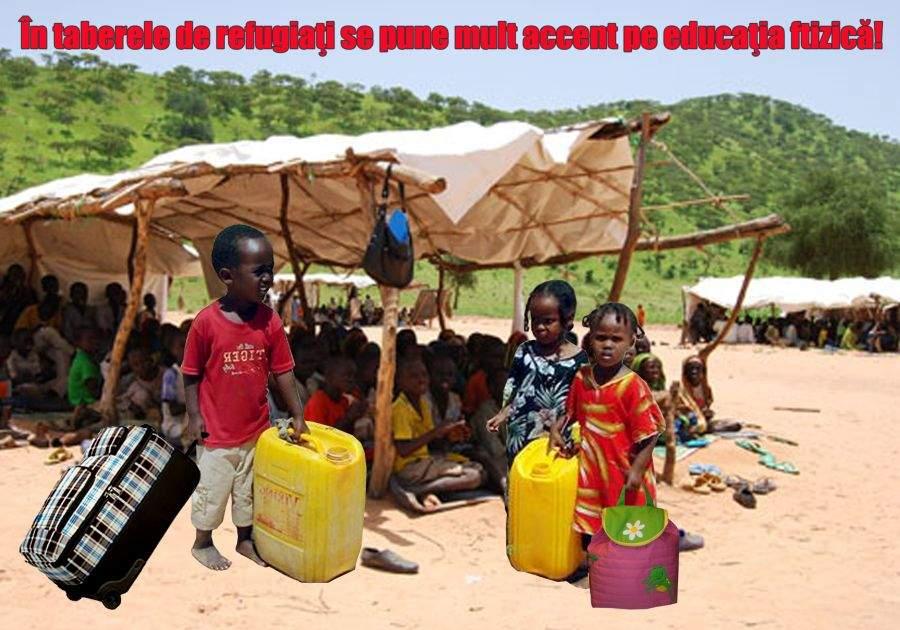 Copiii somalezi pleacă în vacanţă în tabere de refugiaţi