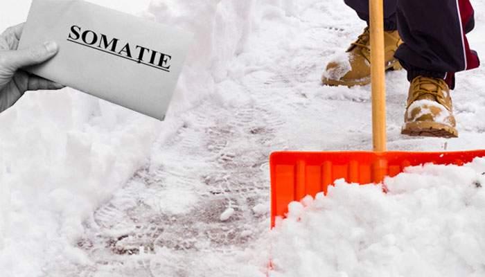 Un român a somat banca să vină să-i cureţe zăpada din faţa casei, că până achită toate ratele ea e proprietarul