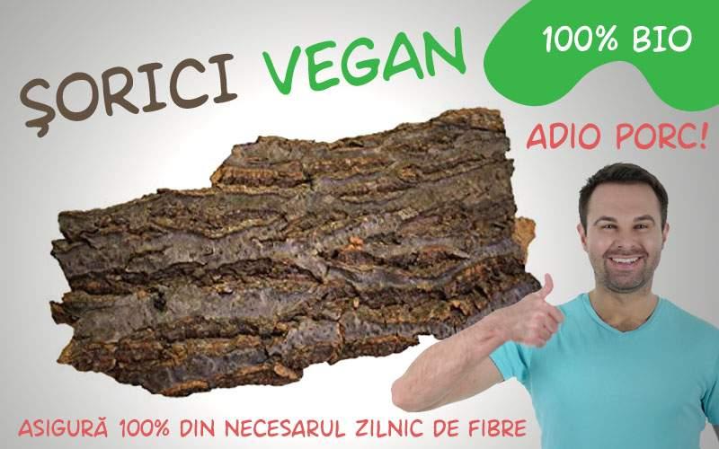 Un român a devenit bogat vânzând coajă de copac pe post de şorici vegan