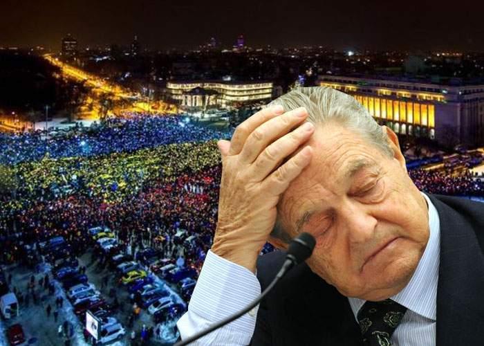 George Soros îşi retrage sprijinul financiar după ce protestatarii au greşit complet steagul Ungariei