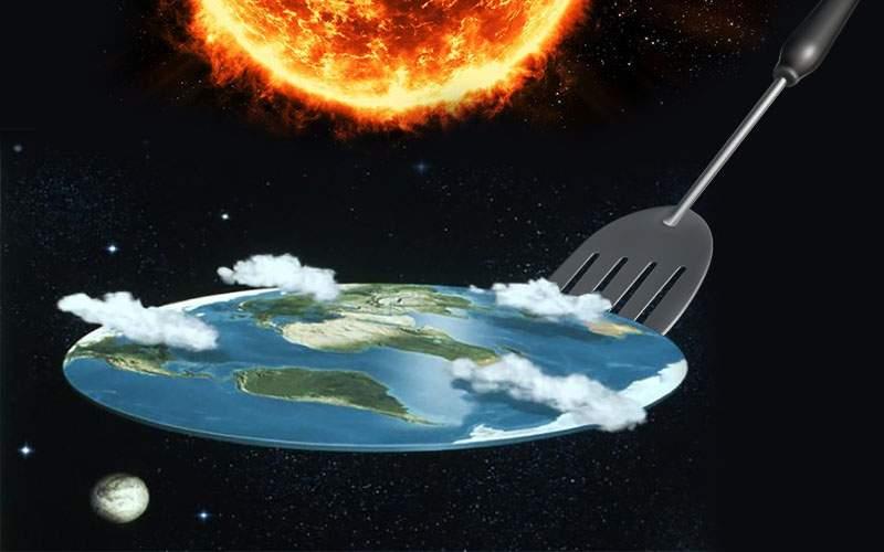 Adepţii Pământului plat au soluţia pentru încălzirea globală! Îl întoarcem pe partea cealaltă