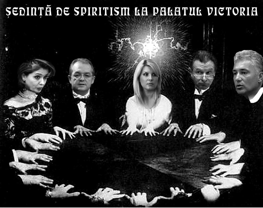 Guvernul în şedinţă de spiritism: cheamă spiritul de sacrificiu