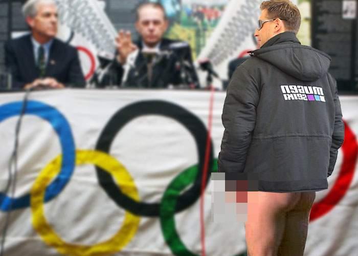 Dezamăgire: Proba de scris numele cu pipi în zăpadă, respinsă pentru a 8-a oară de Comitetul Olimpic