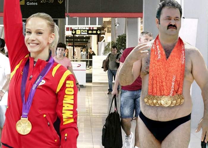 Scandal la aeroport: sportivii români n-au putut justifica toate medaliile pe care le aveau la ei