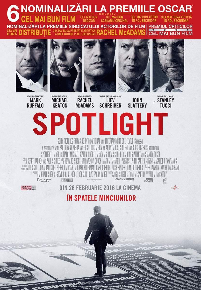 Spotlight (2015) – Ăsta-i jurnalism!