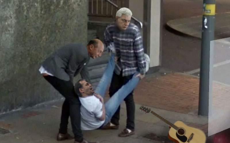 Eroii zilei! Tudose şi Băsescu l-au sprijinit pe Orban deşi abia se ţineau ei pe picioare
