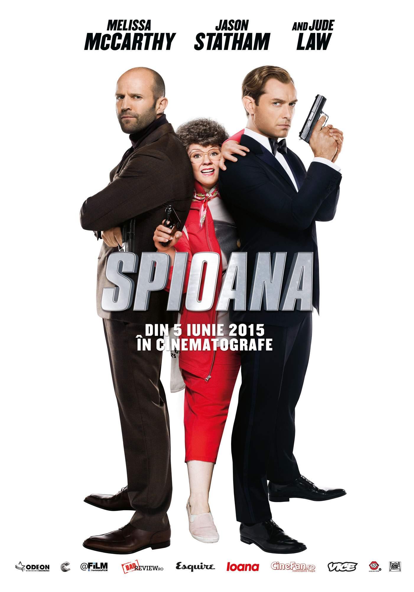 Spy (2015) – My name is Cooper. Susan Cooper