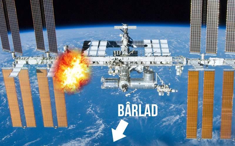 O rachetă anti-grindină lansată din Bârlad a lovit Staţia Spaţială Internaţională