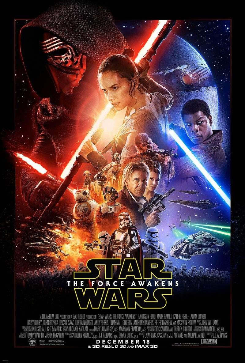 Star Wars: The Force Awakens (2015) – Acest film ochii voștri să vadă vor vrea