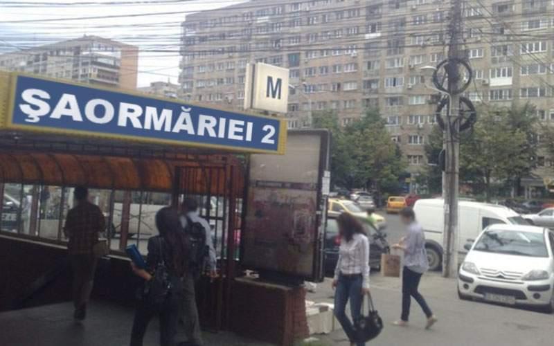 """Ne cinstim valorile! Staţia de metrou Dristor va fi redenumită """"Şaormăriei"""""""