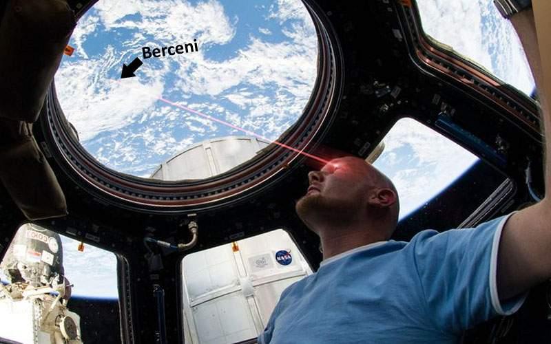 Bine, boss! Un român a reuşit să bage laserul în ochi unui astronaut din spaţiu