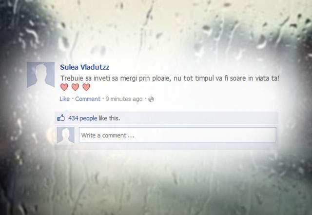 Statistică! Un utilizator Facebook are, în medie, 40 de statusuri despre ploaie la îndemână