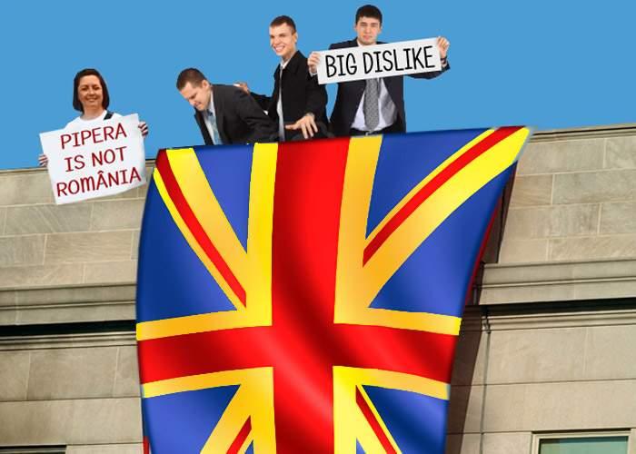 O nouă sfidare la adresa României! Steagul romglez a fost arborat pe o clădire de birouri din Pipera
