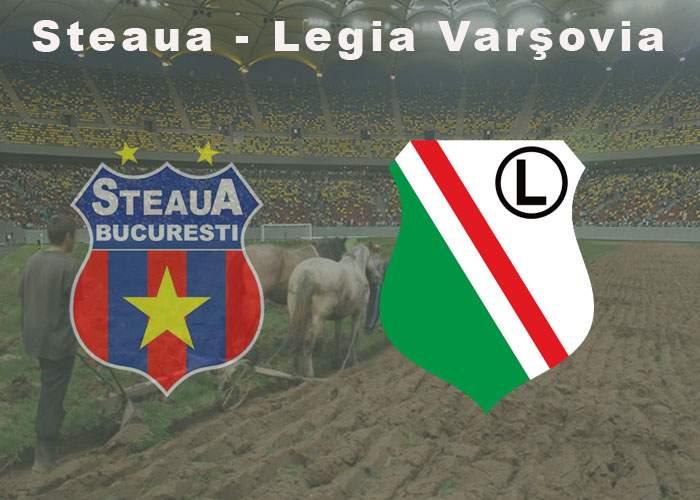 Zece lucruri despre meciul dintre echipa lui Gigi Becali şi Legia Varşovia