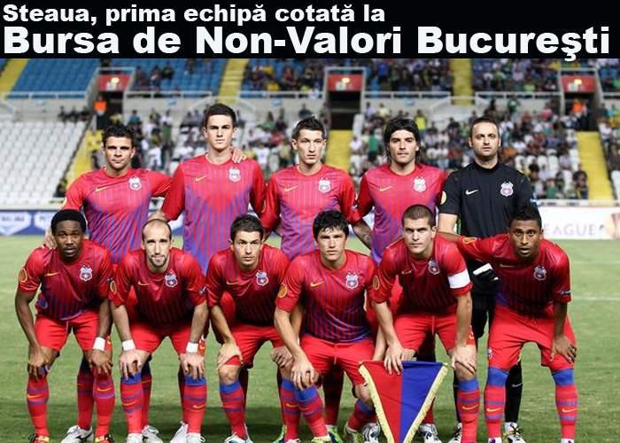 Steaua va fi cotată de Gigi Becali la Bursa de Non-Valori Bucureşti