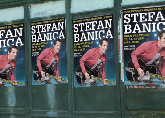 Derutate de afişele cu Ştefan Bănică jr., mai multe magazine au început deja promoţiile de Crăciun