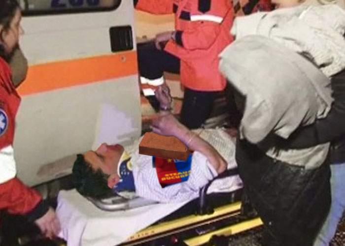 Mii de români răniţi grav după ce s-au bătut cu cărămida în piept că sunt stelişti de mici copii