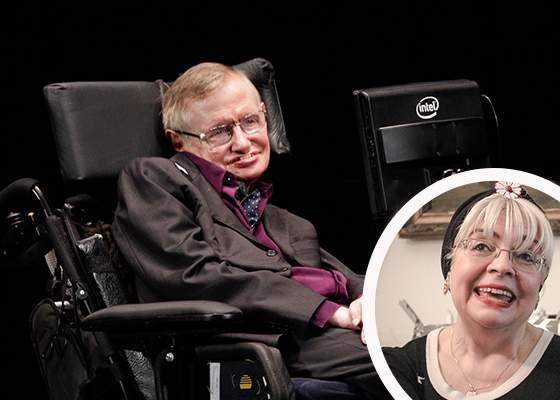 Un hacker român i-a înlocuit vocea robotului lui Stephen Hawking cu cea a Irinei Margareta Nistor