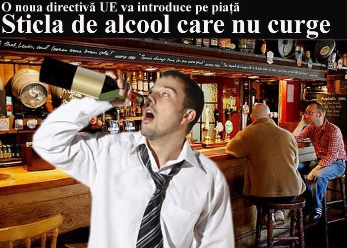 Proiect UE: După ţigările care se sting singure, urmează alcoolul care nu mai curge