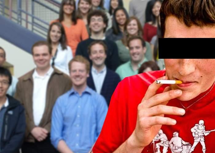 Record mondial la Politehnică! 120 de studenţi au reuşit să poştească o singură ţigară