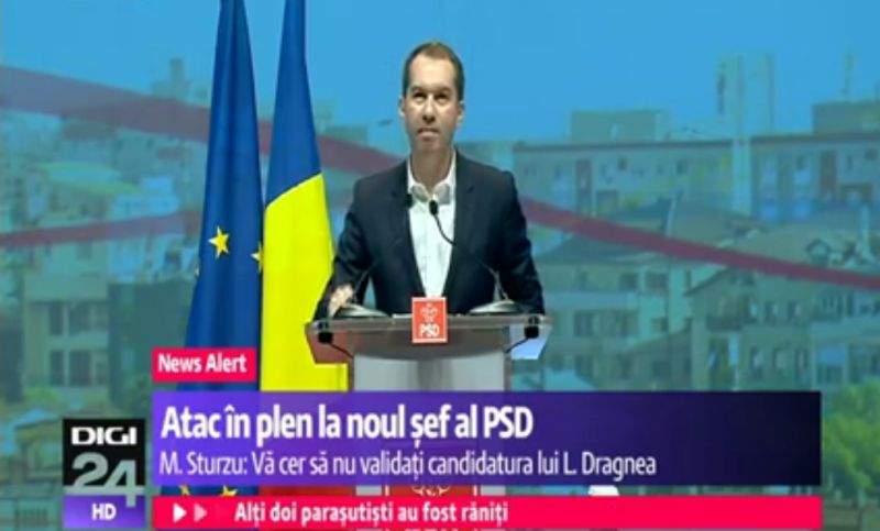 Pentru că l-a criticat pe Dragnea, Mihai Sturzu va fi trimis de PSD la reeducare la Pitești