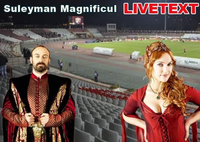 LIVETEXT Dinamo – Chiajna/Suleyman Magnificul, în direct din redacţia TNR