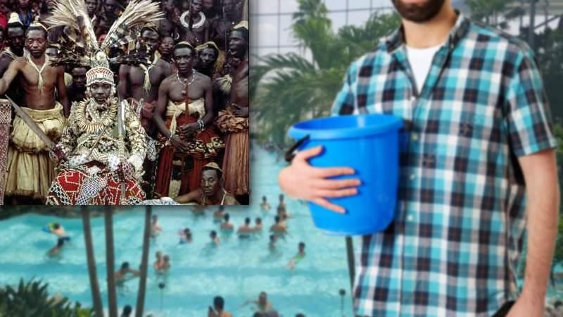 """Scandalos! Apă de la Therme, vândută în Congo ca """"supă de om"""""""