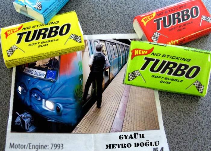 Ediţie de colecţie! Guma Turbo introduce seria de surprize cu vagoanele metroului din Drumul Taberei