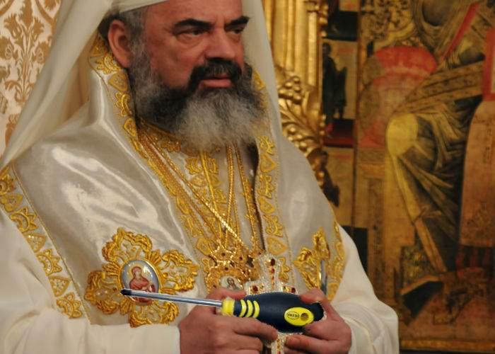 Patriarhul Daniel: Şurubelniţele în cruce vor putea fi cumpărate doar de la biserici