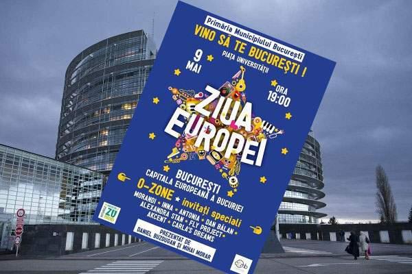 UE mută ziua Europei de pe 9 mai, ca să nu coincidă cu concertul penibil al lui Gabi Firea