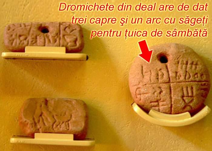 Ipoteză şocantă: Tăbliţele de la Tărtăria erau caieţelul unei cârciumi preistorice