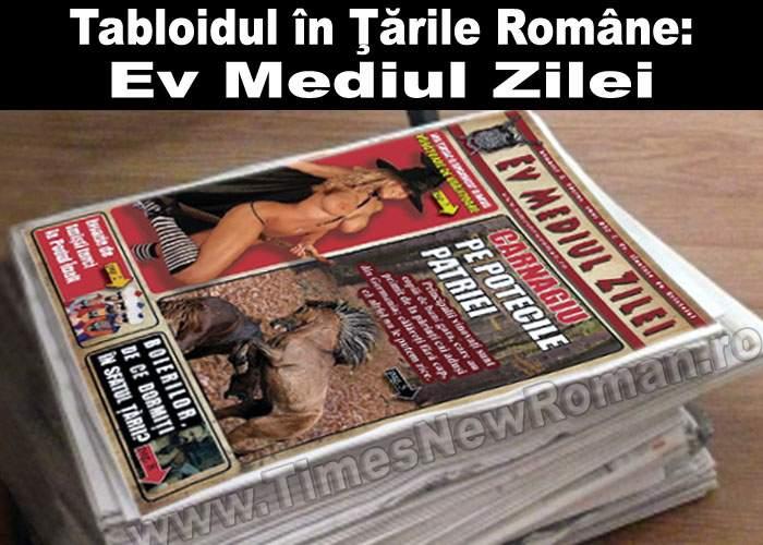 Istoria tabloidului. Perioada medievală: Ev Mediul Zilei
