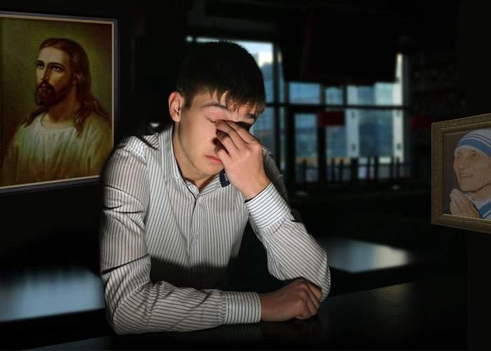 Cel mai pios român! Ţine post negru ore întregi pe zi, de mai bine de 30 de ani
