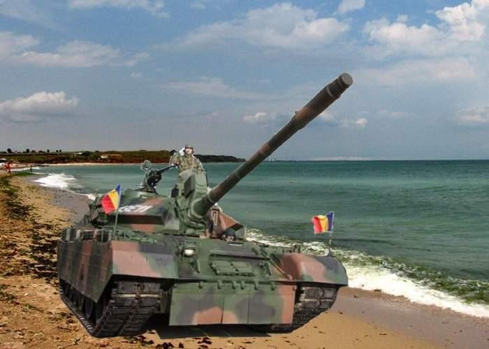 MApN roagă soldaţii participanţi la defilarea de 1 Decembrie să returneze tancurile