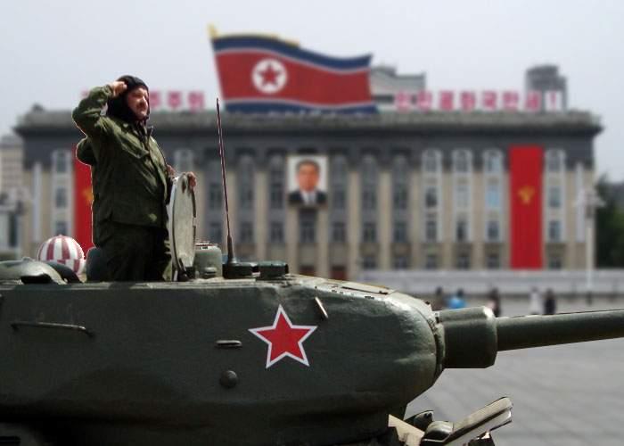 Gafă incredibilă! Un tanchist rus beat a ocupat, din greșeală, Coreea de Nord