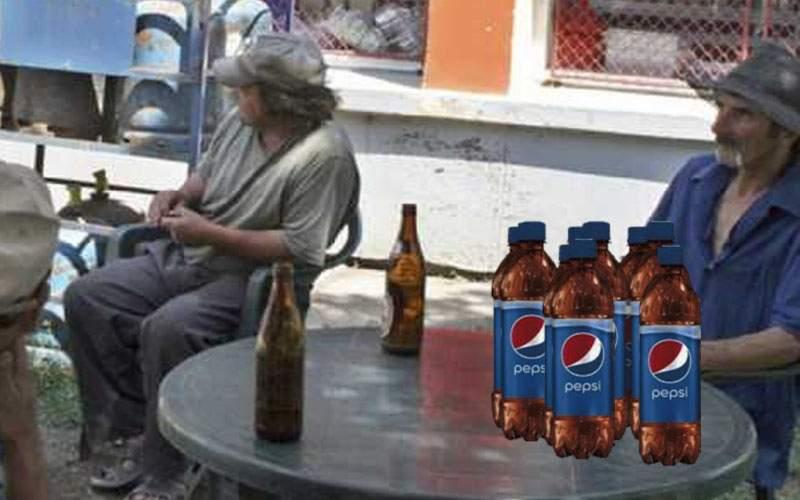 Sacrificiu! Un român bea 20 de litri de Pepsi pe zi, că are nevoie de PET-uri pentru vin