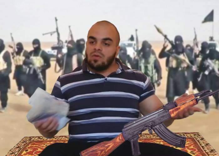 """Era inevitabil. Românul care luptă contra ISIS a devenit viral ca """"Ţăranul cu Kalaşnikov"""""""