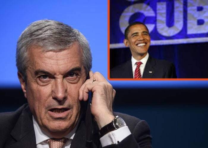 Tăriceanu l-a chemat pe Obama în parlament să explice de ce a vizitat Cuba fără mandat