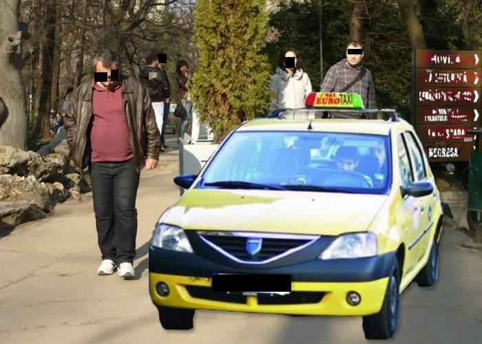 Taximetriştii acuză că îşi rup zilnic maşinile în gropanele de pe aleile neasfaltate din parcuri