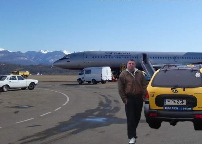 Turiştii veniţi la Soci se plâng de taximetriştii cu numere de Ilfov care îi acostează în aeroport