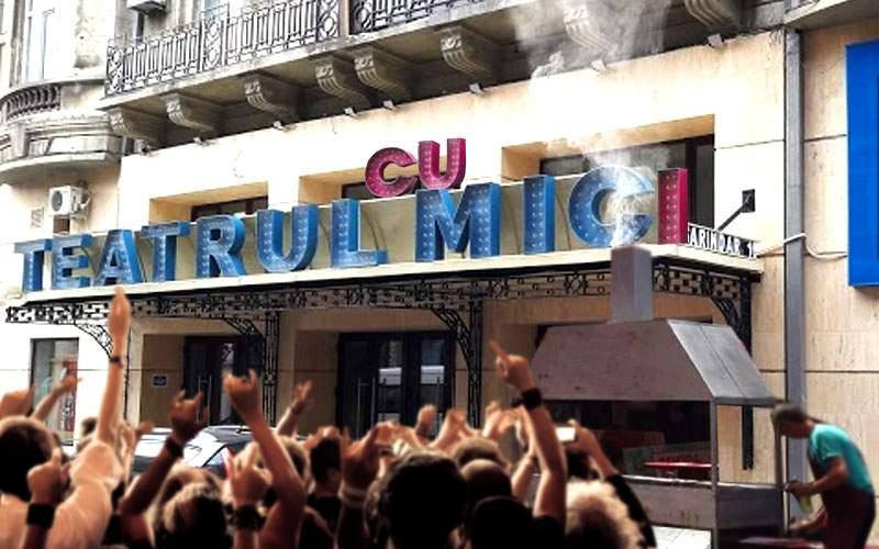 Ca să aibă succes la public, Teatrul Mic îşi schimbă numele în Teatrul Cu Mici