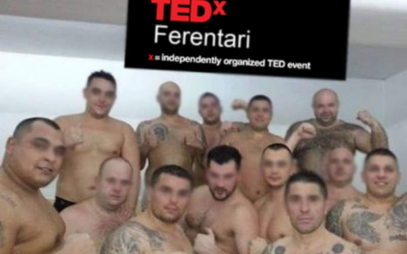 7 motivaţi şi 23 de răniţi la TEDx Ferentari