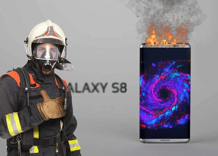 Noul Samsung Galaxy S8 se găsește deja la precomandă în toate cazarmele de pompieri din țară