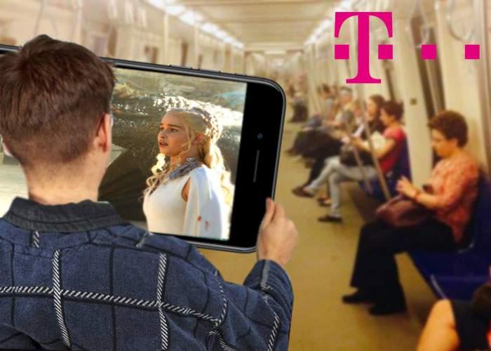 În sfârşit! A apărut telefonul cu diagonala de 120 cm, ca să te poţi uita la Game of Thrones în metrou