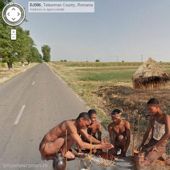 Fotogalerie! Cinci imagini inedite surprinse de Google Street View în judeţul Teleorman