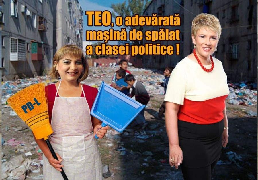 """Teo: """"Vin cu Tănţelu ca să fac curăţenie în clasa politică"""""""