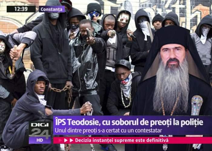 ÎPS Teodosie, certat de Patriarh pentru că a venit la DNA cu 30 de popi, lăsând cutia milei nepăzită
