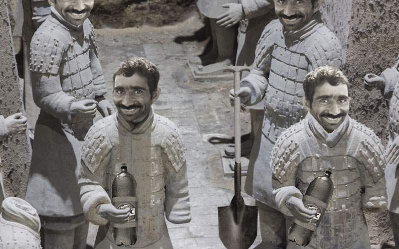 A fost găsit mormântul unui mare rege dac, înconjurat de 10.000 de Dorei de teracotă