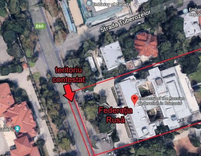 Nu se pot abţine! Trafic infernal pe Kiseleff după ce ambasada Rusiei a anexat o bandă